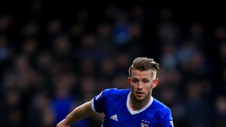 Luke Hyam could be available for Ipswich