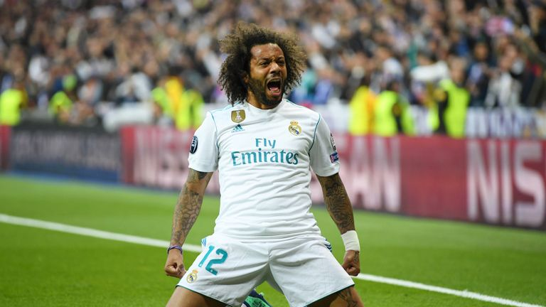 Marcelo could be leaving Real Madrid
