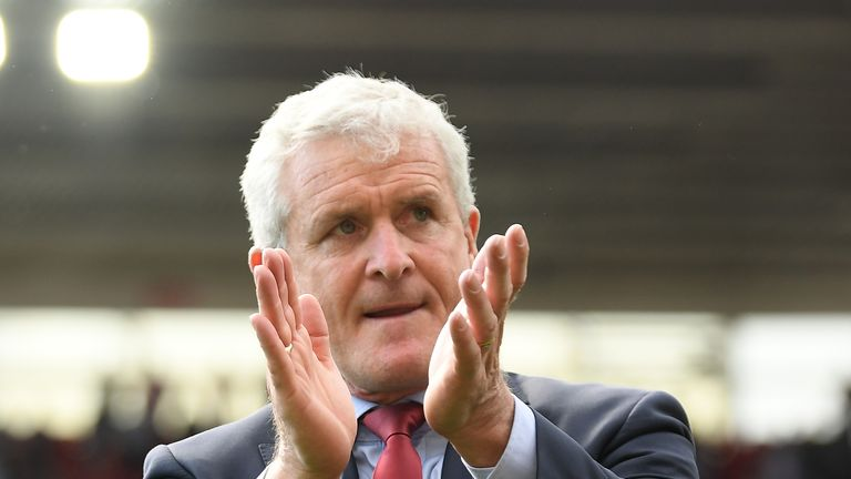 Mark Hughes is pleased with Southampton's summer transfer business