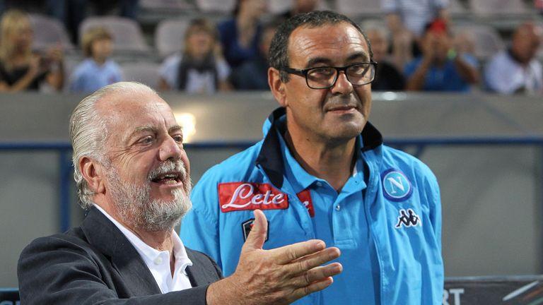 Aurelio De Laurentiis wants compensation for Sarri