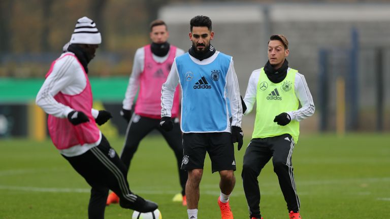 Mesut Ozil and Gundogan have been criticised by the German FA