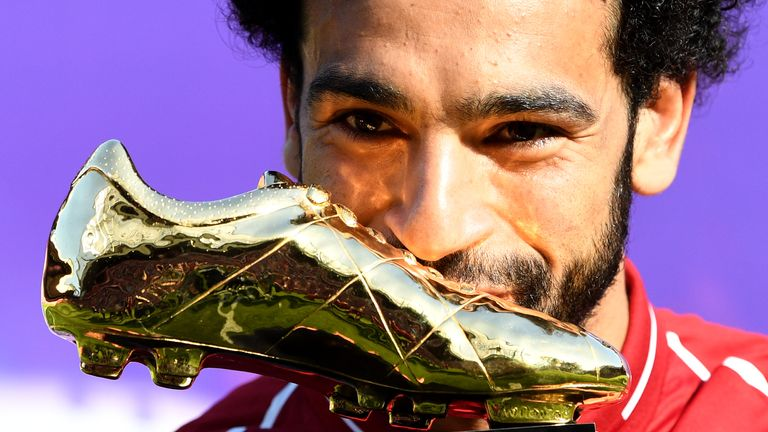 Mohamed Salah won the Premier League Golden Boot award, as well as a string of other accolades