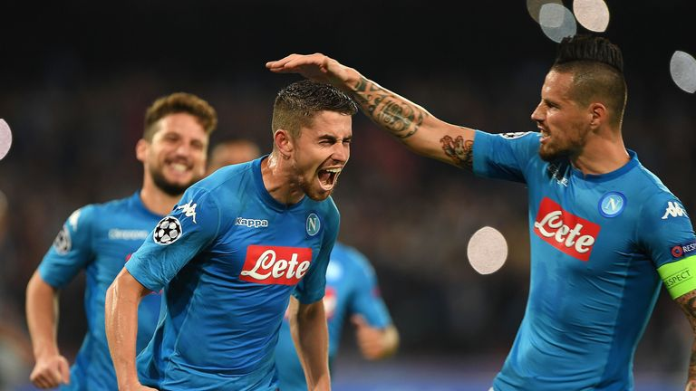 Napoli finished second in Serie A this season with 28 wins from 38 games