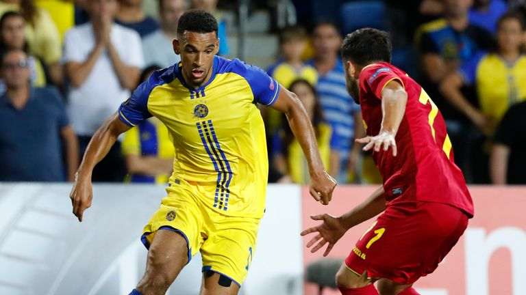 Nick Blackman has spent the season on loan at Maccabi Tel Aviv