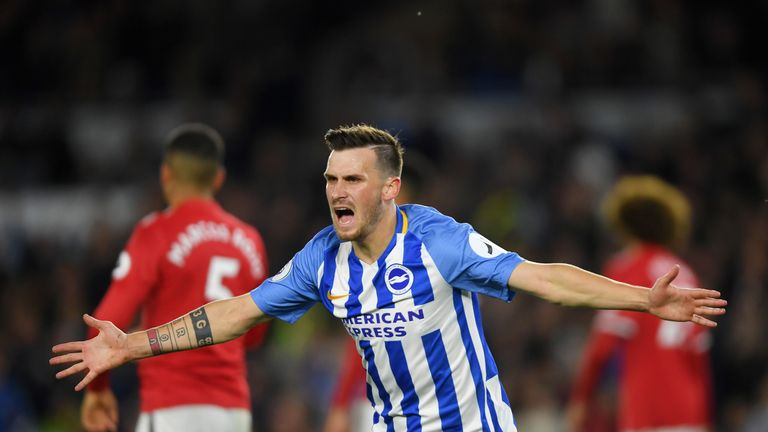 Brighton's player of the year Pascal Gross has signed a contract extension until 2022