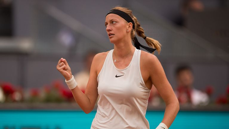 Impressive Kvitova Sets Up Bertens Final In Madrid