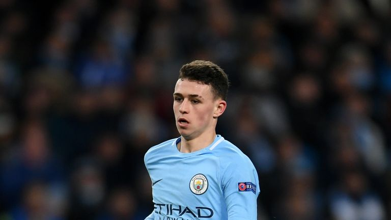 Foden became the youngest Englishman to play in the Champions League this season
