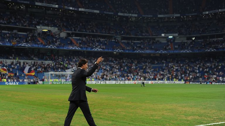 Nadal is known to be a huge Real Madrid fan and is regularly at the Bernabeu
