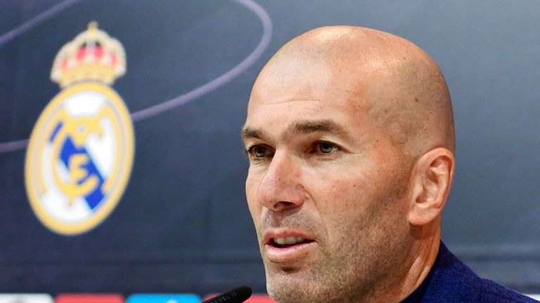 Zidane announced his decision on Thursday - having informed the Real Madrid president on Wednesday