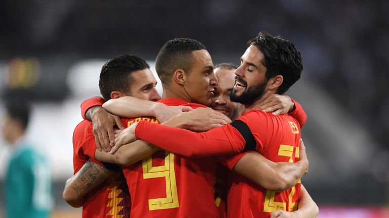 Rodrigo had made just one senior appearance for Spain before Julen Lopetegui recalled him