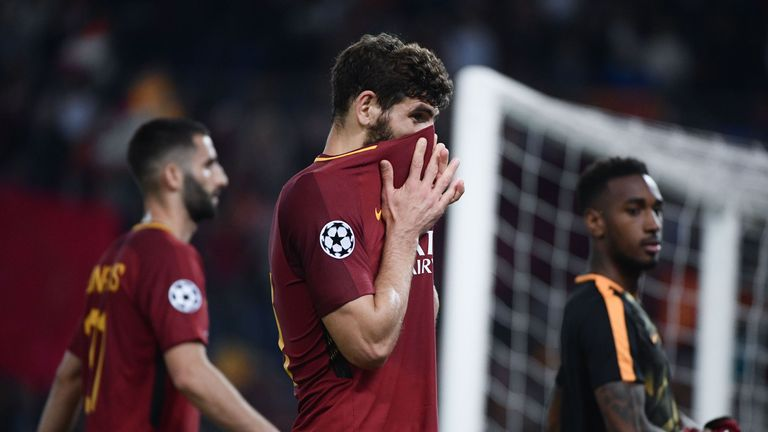 Roma were beaten 7-6 on aggregate by Liverpool