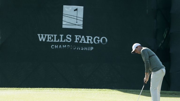Wells Fargo Championship: Jason Day two ahead at Quail Hollow