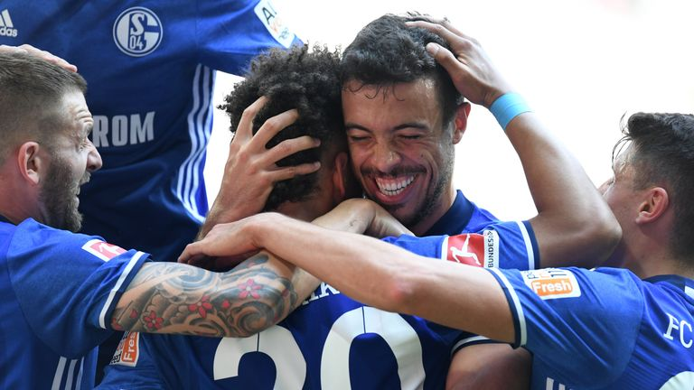 Schalke secured a return to the Champions League