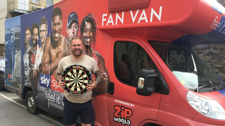 Scott Quinnell will be making his way to The O2 for Premier Legaue Darts Finals Night, and he needs a nickname for the occasion too