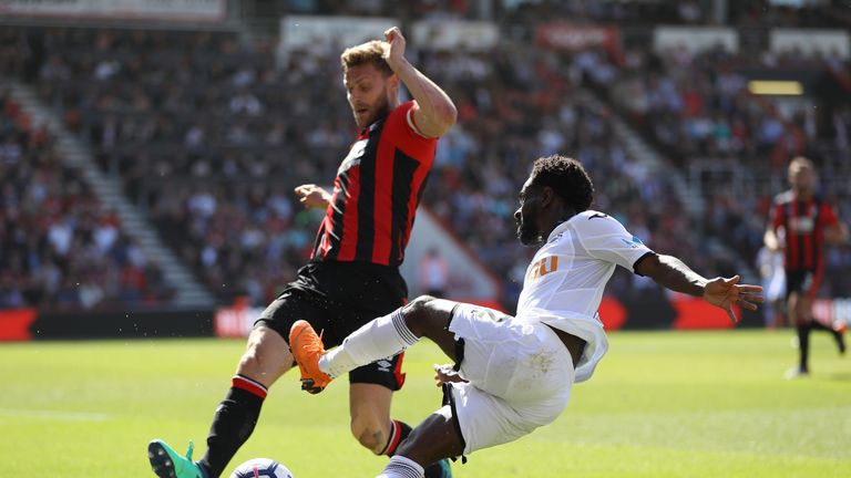 Francis made 32 league appearances as Bournemouth comfortably avoided relegation for a third successive year