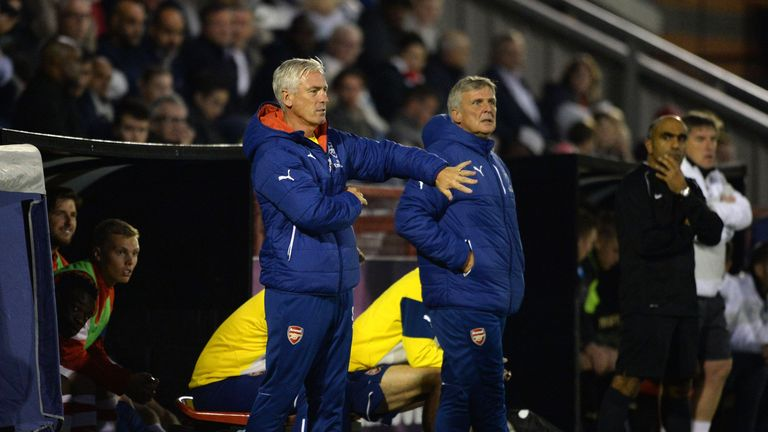 Steve Gatting (L) and Carl Laraman (R) have been suspended pending an internal investigation, Sky Sports News understands