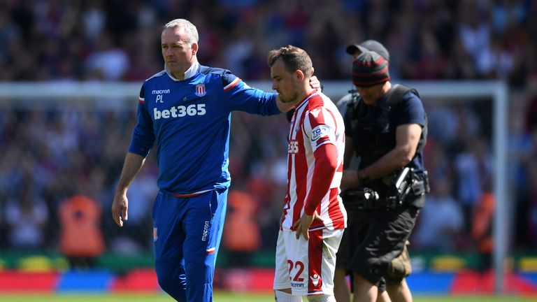 Stoke City were relegated after 10 seasons in the Premier League