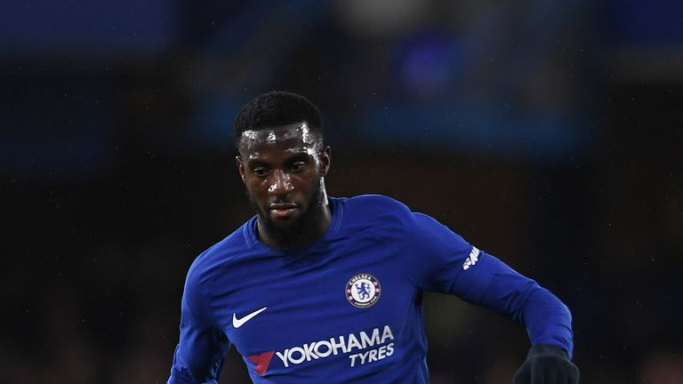 Tiemoue Bakayoko was signed from Monaco last summer