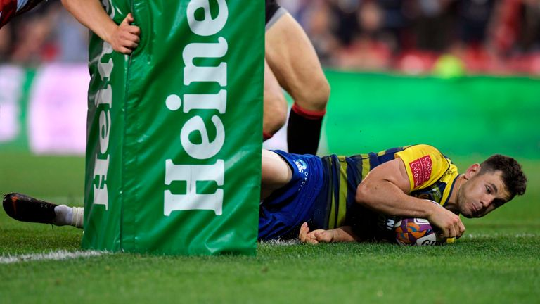 Tomos Williams' early try at the start of the second half was vital in getting the Blues back into the game
