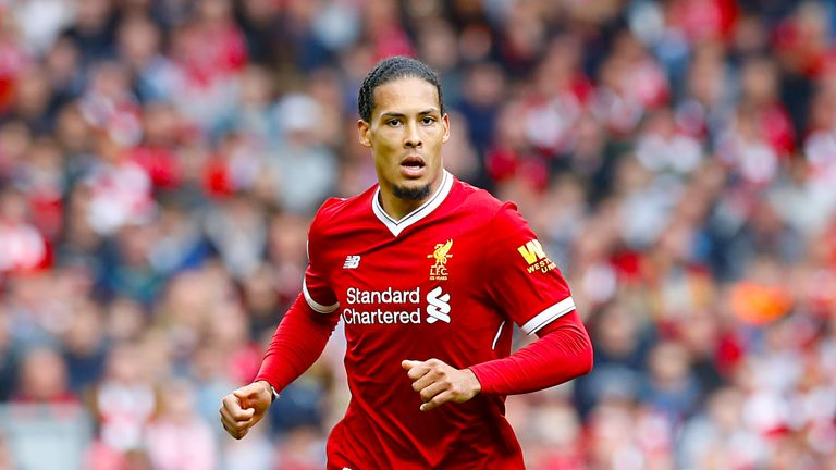 Liverpool paid £75m for Virgil van Dijk in January