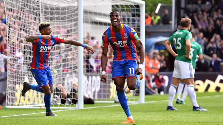 Tottenham are understood to have cooled their interest in Wilfried Zaha