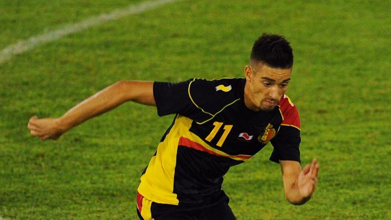 Yannick Ferreira Carrasco is a good example of one of Belgium's late developers