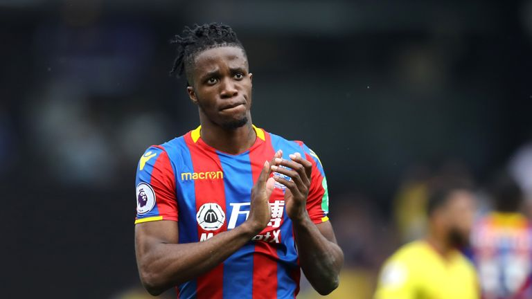 Wilfried Zaha could sign an improved deal at Crystal Palace