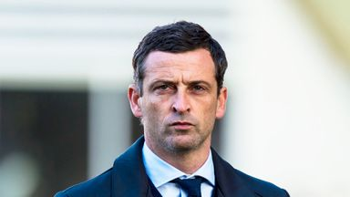 Jack Ross guided St Mirren into the Scottish Premiership this season