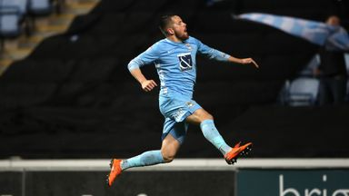 Marc McNulty was a key figure for Coventry in the play-offs