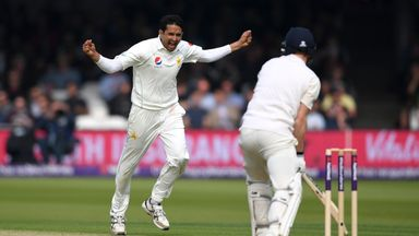 Pakistan seamer Mohammad Abbas bagged 4-23 on his Lord's debut