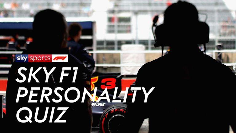Sky F1 Personality Quiz