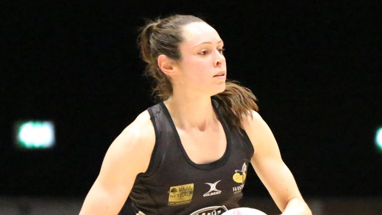 Hannah Knights and Wasps are out to return to winning ways in the Superleague this weekend when they take on third placed Manchester Thunder