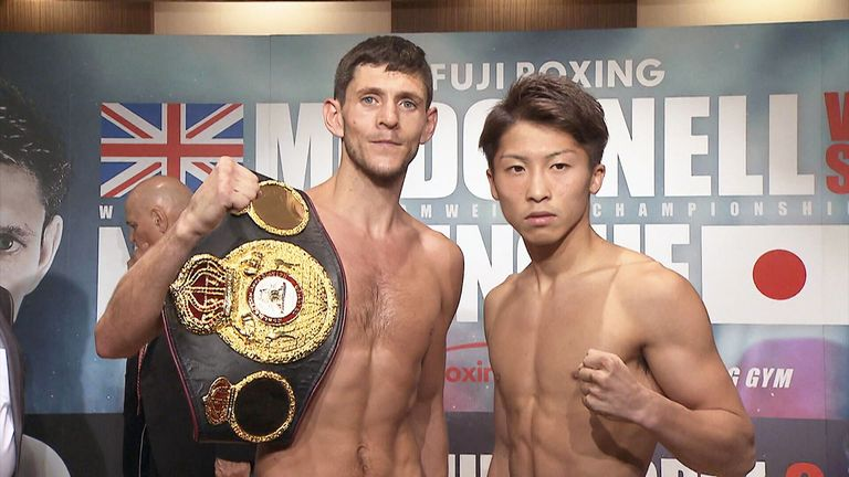 McDonnell and Inoue make weight