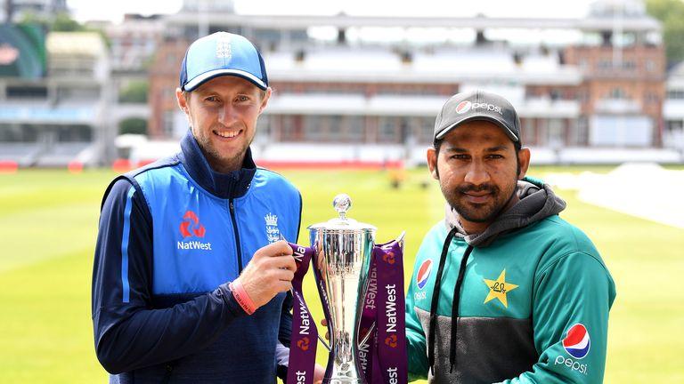 England captain Joe Root and Pakistan skipper Sarfraz Ahmed ahead of the first Test