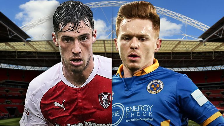 Sky Bet League One Play-Off Final - Rotherham United v Shrewsbury Town