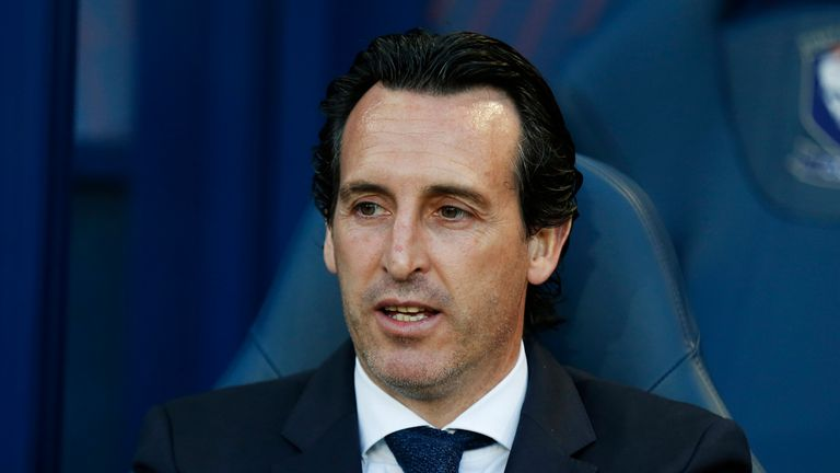 Unai Emery has coached PSG and Sevilla