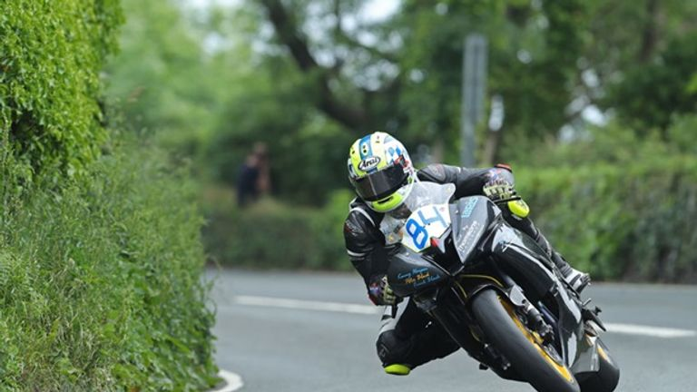 Scottish rider Adam Lyon was killed in a crash during the Supersport 1 competition at the Isle of Man TT races (Picture: IOMTT.com)