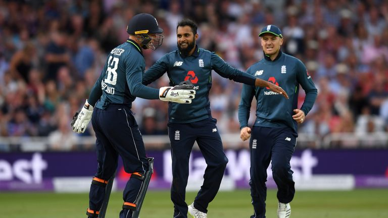 Adil Rashid finished the series with 12 wickets to his name
