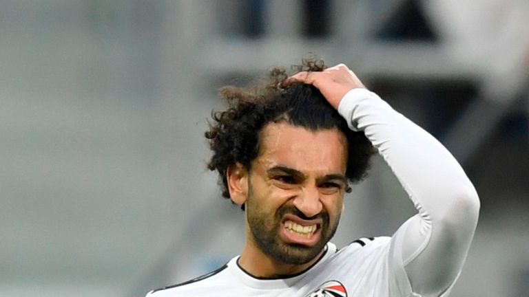 Salah scores again amid dispute with Egyptian federation