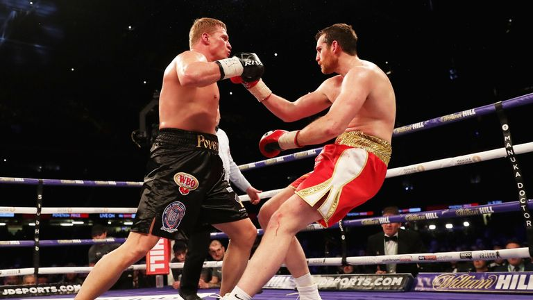 The Russian produced a devastating knockout of David Price in March