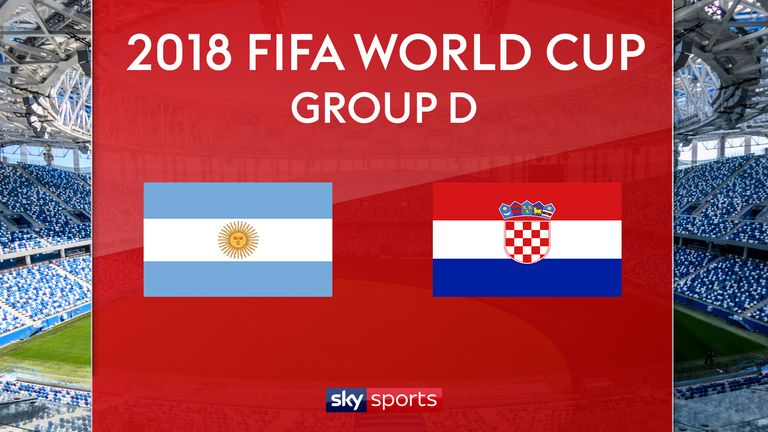 Argentina vs Croatia - Preview, Live Match | 21 Jun 2018