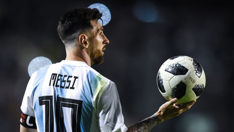 The Magic Man rates Argentina's attack, which of course features Lionel Messi