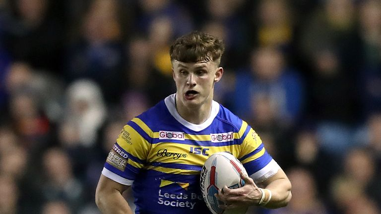 Ash Handley has started the Rhinos' last 15 matches at centre in the absence of Liam Sutcliffe