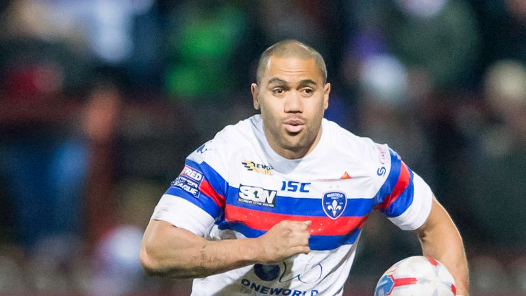 Bill Tupou responded for Wakefield with a sensational solo effort