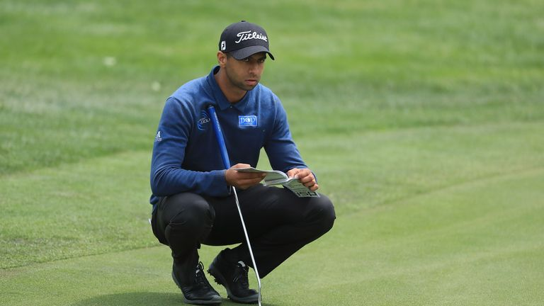 Aaron Rai shot a hole in one in Germany