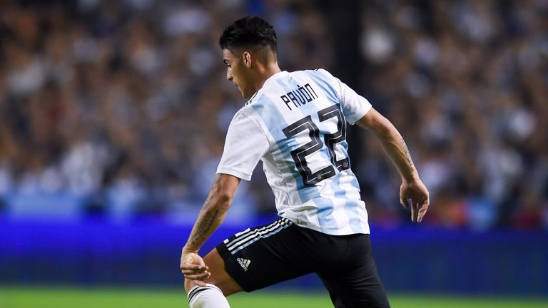 Arsenal have yet to make a move for Argentina wide man Cristian Pavon