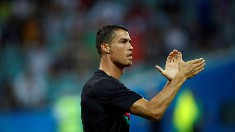 Cristiano Ronaldo scored the 51st hat-trick of his career in Portugal's 3-3 draw v Spain on Friday