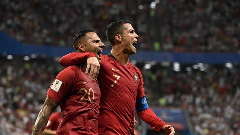 Ricardo Quaresma's sublime effort before half-time put Portugal in front