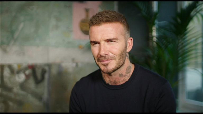 David Beckham backed the North American bid to host the 2026 FIFA World Cup