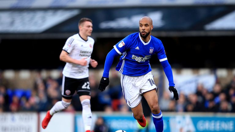 David McGoldrick has left Ipswich